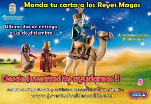 La Concejalía de Juventud ayuda a los peques de Valdemorillo a entregar su carta a los Reyes Magos