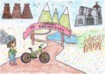 Alejandro Estévez, de 9 años, gana el concurso  organizado por la concejalía de Juventud y firmará  el cartel anunciador de la XXX Clásica de Valdemorillo MTB