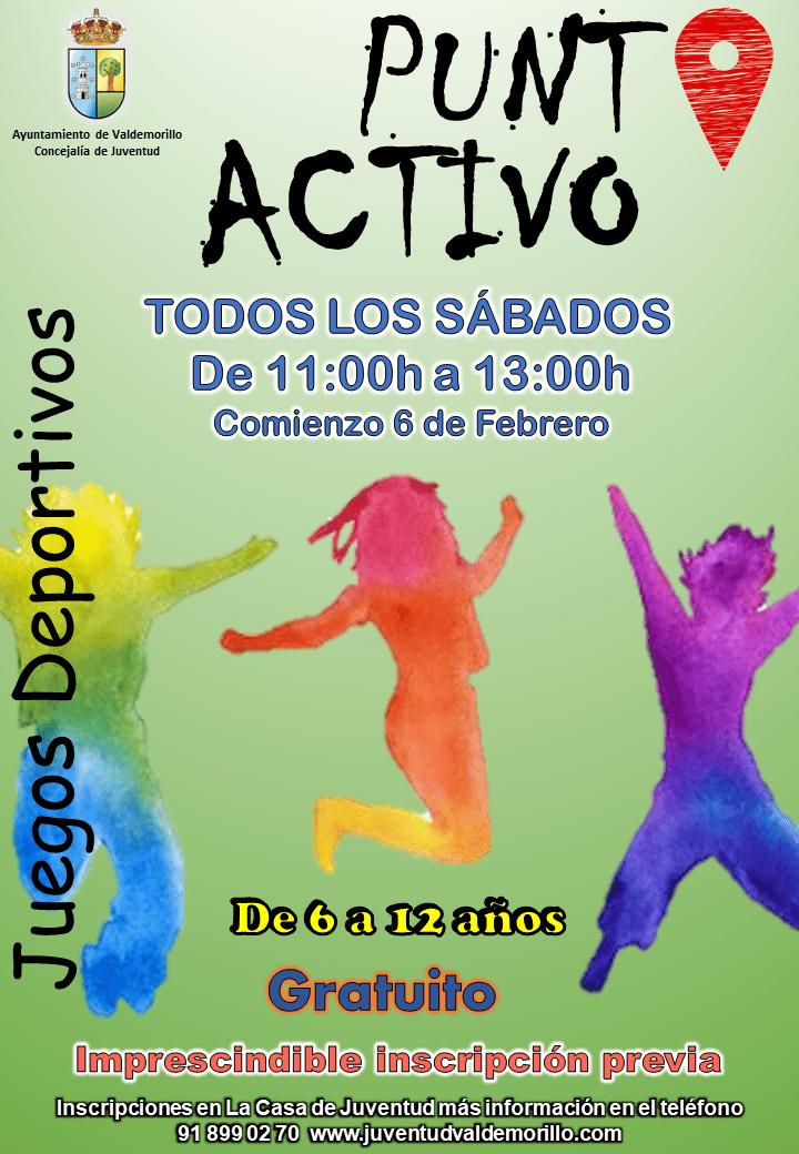 Valdemorillo pone en marcha sus 'Puntos Activos'  para combatir el sedentarismo en todas las edades