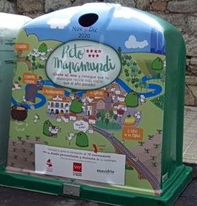 Valdemorillo, uno de los municipios que más recicla,  logra concienciar aún más a sus vecinos   y gana el Reto Mapamundi al aumentar la ya alta cantidad de envases de vidrio que se retiran para su 'recuperación'