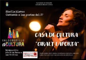 Sheila Blanco, este sábado, 20 de marzo,  en la Giralt Laporta para cantarle a las poetas del 27