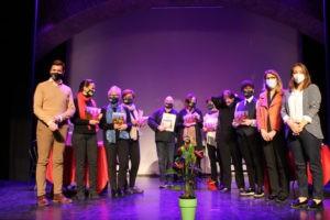 Música y poesía por la igualdad en la Giralt Laporta