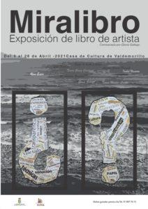 'Miralibro', el libro de artista se abre al público en Valdemorillo del 9 al 28 de abril