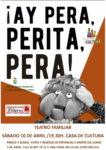 '¡Ay pera, perita, pera!', este sábado 10 de abril  los títeres vuelven a escena en la Giralt Laporta para brindar otra divertida tarde de teatro familiar