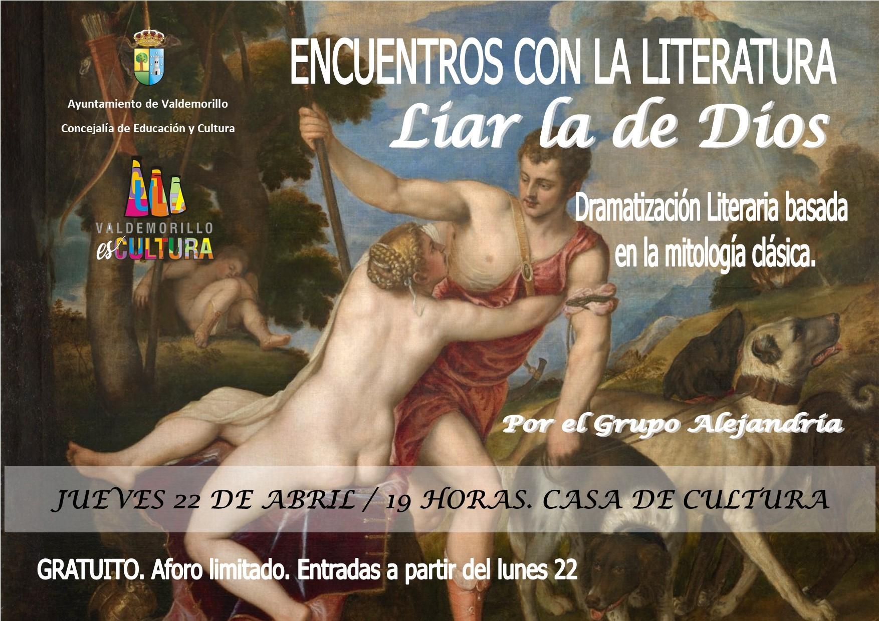 Este jueves, en la Casa de Cultura se va a 'Liar la de Dios' con la lectura dramatizada que abre programa especial en torno al Día del Libro