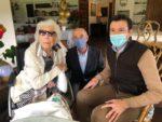 Valdemorillo honra a sus nuevos vecinos centenarios