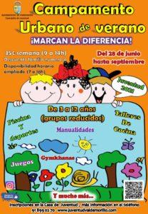 En marcha las inscripciones para  el Campamento Urbano de Verano que hará disfrutar a los menores de entre 3 y 12 años entre talleres, juegos, deporte, piscina y muchas más sorpresas