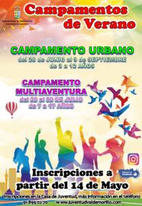 Valdemorillo sigue marcando la diferencia y presenta ya sus campamentos urbano y multiaventura de verano  para ofrecer una alternativa aún más completa  a las vacaciones de niños y jóvenes de entre 3 y 17 años