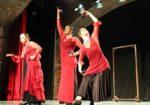 Valdemorillo se deja llevar por 'Un sentir'  y ovaciona a Vidalita en el ensayo general que despertó emociones como auténtico bautizo ante el público y sobre las tablas del nuevo grupo de danza española