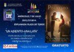 Este 7 de julio Valdemorillo estrena su cartelera de verano, todos los miércoles noches de cine solidario