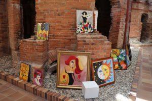 Ángel Hipólito presenta por vez primera su obra pictórica al público en una muestra muy esperada por sus vecinos de Valdemorillo