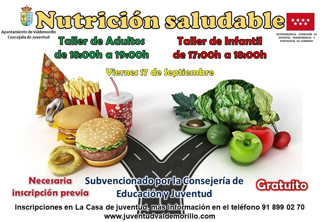 Valdemorillo fomenta los hábitos alimenticios correctos tanto entre los más jóvenes como en los adultos con su nuevo taller de alimentación saludable