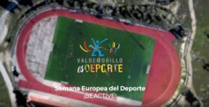 ValdemorilloEsDeporte  y busca puntuar alto en el concurso Municipios BEACTIVE por el Deporte