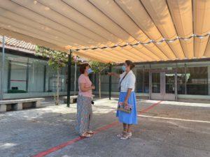 Todo a punto en los centros escolares de Valdemorillo para la vuelta al cole