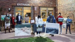 El paisaje de Valdemorillo se hace con el premio en el XI Concurso de Pintura Rápida  con las dos bellas acuarelas firmadas por Raúl Sánchez Muñoz, ganador entre los adultos, y Paco Campos Tocornal, reconocido por su creatividad